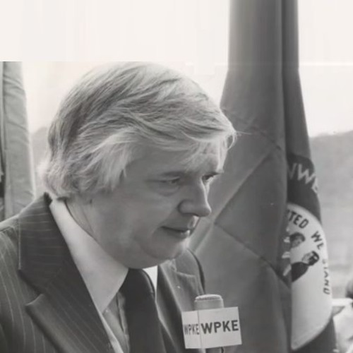 Flashback: Walter May at the 1972 Kentucky Broadcaster's Meeting, introduced by Ernest Sparkman