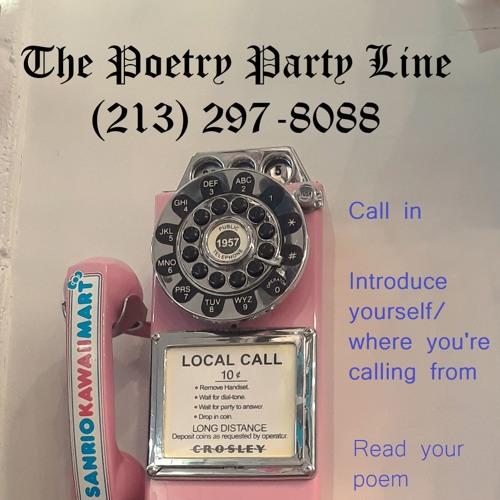 """THE POETRY PARTY LINE: """"Con Brio"""" by Tim """"The Tater"""" Staley (Las Cruces, NM)"""