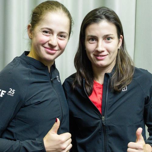 """#23 Ostapenko vai Sevastova - kurai labāka sezona? Cik augstu uzlidos Gulbis? Podkāsts """"Ārpus Kadra"""""""