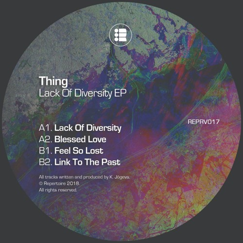 Thing - Lack of Diversity 2018 [EP]