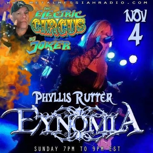 Phyllis Rutter Of EYNOMIA - Interview With - J0KeR - MMR