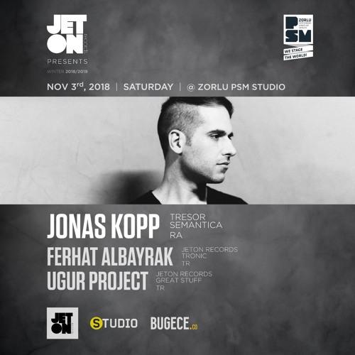 Ferhat Albayrak Live at Zorlu PSM Studio Istanbul 03.11.18 with Jonas Kopp