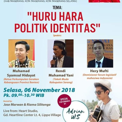 Coffee Morning 06 November 2018 (Huru Hara Politik Identitas)