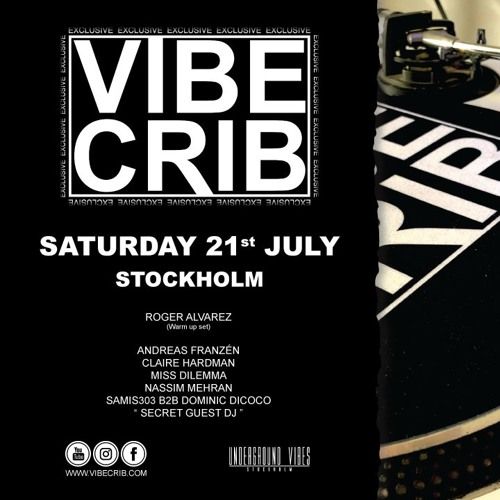 Andreas Franzén - Vibe Crib Stockholm at Eat Summer Garden