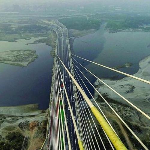 Spectacular Viewing Bridge and Futuristic Skywalk Open in India