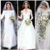 Opinión de Felgueras acerca de los vestidos de novia de Meghan Markle, Kate Middleton y Lady Di.