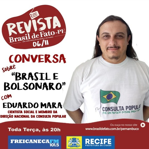 Eduardo Mara no Brasil de Fato Pernambuco