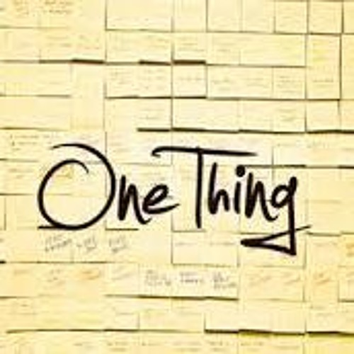 One Thing - Pr Antonio