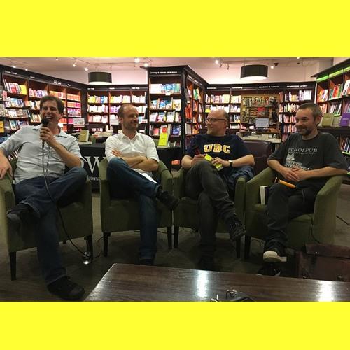 Galley Beggar Press BookBlast 10x10 Tour LIVE event
