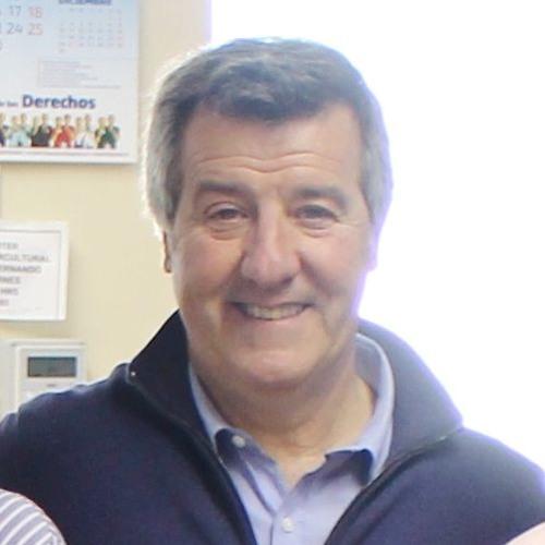 Pedro Vega, pte. Centro Español San Fernando
