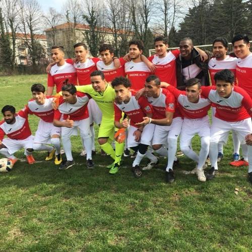 Unione Alfa, la squadra di calcio della scuola di italiano di Alfabeti onlus