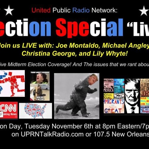 Come Join Joe Michael Lily Jeffery Jay Ben and Cathy for tonight live Panel election 2018 MIDTERMS