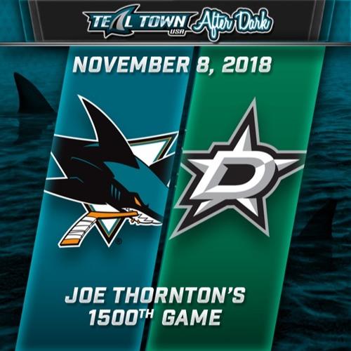 Teal Town USA After Dark (Postgame) - Sharks @ Stars - 11-8-2018