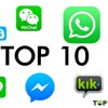 Send MMS, SMS messages free with international Android messaging apps
