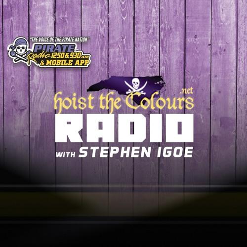 Hoist The Colours with Stephen Igoe 11/08/18 - ECU Baseball Head Coach Cliff Godwin