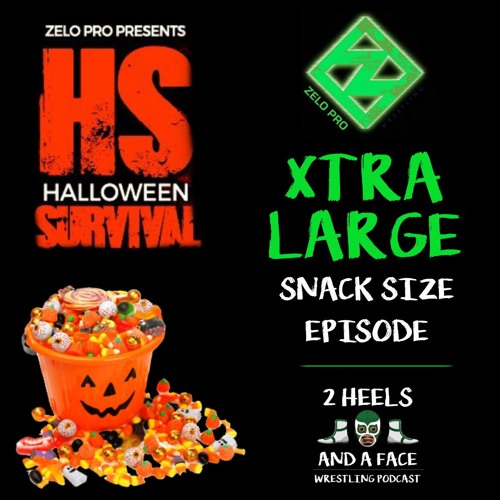 Xtra Large Snack Size - Zelo Pro Halloween Survival and more
