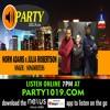 NORM ADAMS x JULIA ROBERTSON talks music + career @ party1019.com