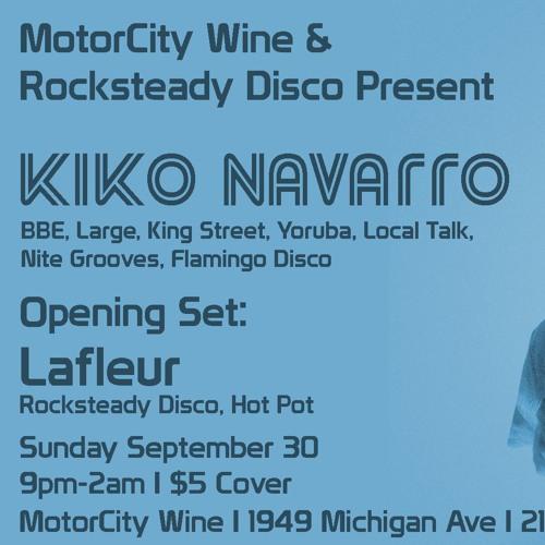 Kiko Navarro@Motor City Wine, Detroit 30 09 2018
