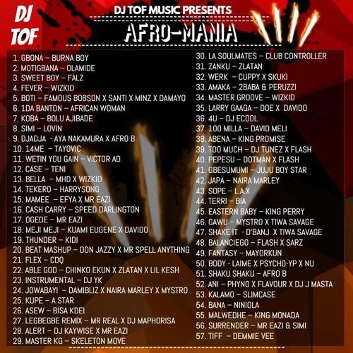 DJ TOF - AFROMANIA 4 [FREE DOWNLOAD] ft Burna Boy, Mr Eazi