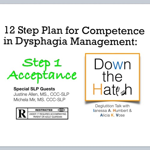 12 Step Plan for Competence in Dysphagia Management: Acceptance