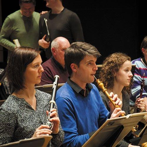 Trois exemples de diapason à la flûte