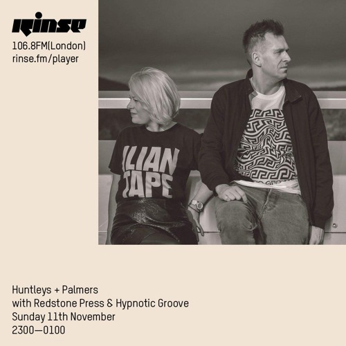 Huntley + Palmers with Redstone Press & Hypnotic Groove - 11th November 2018
