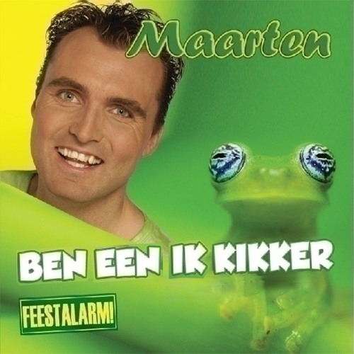 Feest DJ Maarten - Ik Ben Een Kikker but the lyrics are in alphabetical order.mp3