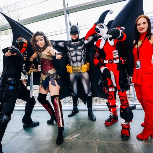VIECC: Superhelden zu Gast in Wien