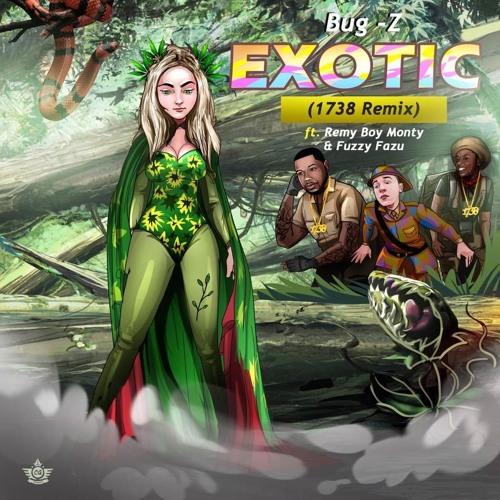 """Bug-Z """"Exotic"""" (1738 Remix) ft Remy Boy Monty & Fuzzy Fazu"""