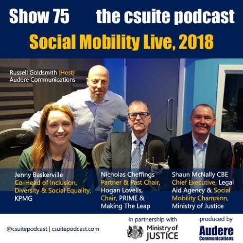 Show 75 - Social Mobility Live, 2018