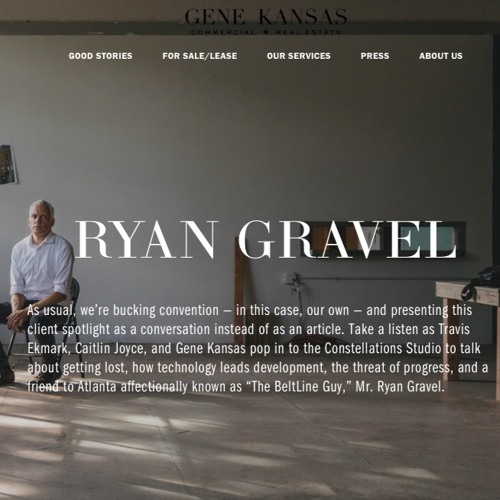 Gene Kansas Spotlights Ryan Gravel