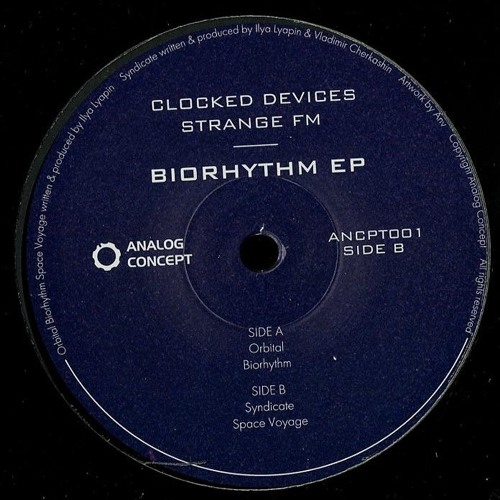 ANCPT001 // Clocked Devices & Strange FM - Biorhythm EP