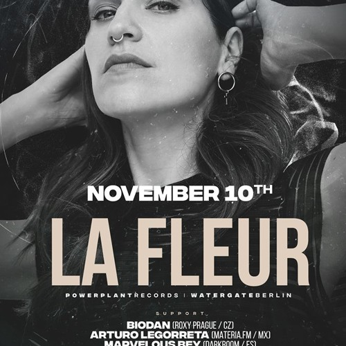 warm up for La Fleur (DarkRoom at 36 Underground, Prague / November 10, 2018)