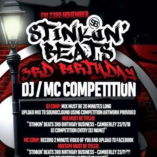 STINKIN BEATS 3RD BIRTHDAY BUSINESS - Camberley 23/11/18 DJ COMP ENTRY - WREXX
