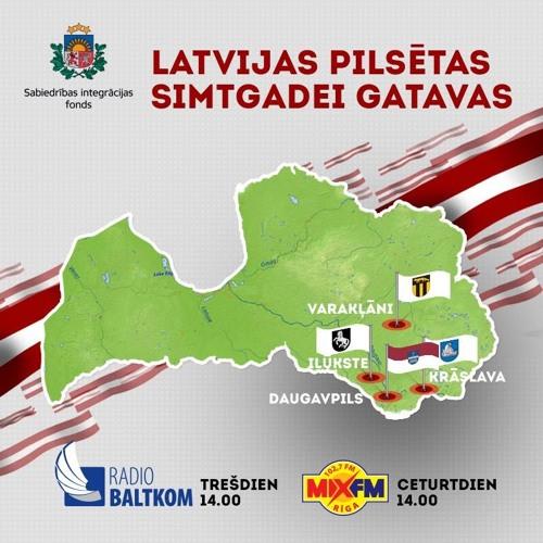 """Raidījuma """"Latvijas pilsētas - Simtgadei gatavas"""" 12. izlaidums"""
