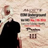 Analog Trip @ EDM Underground Sessions Vol043 | www.protonradio.com 13-11-2018 | Free Download