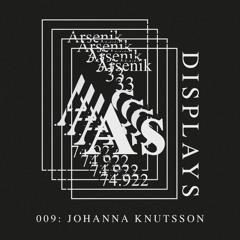 Arsenik Displays 009: Johanna Knutsson