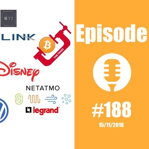 #188: T2 d'Apple, Starlink de SpaceX, taxis de Waymo, taxe sur le Bitcoin,...