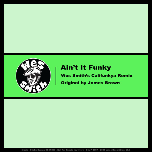 Ain't It Funky (Wes Smith's Califunkya Remix)