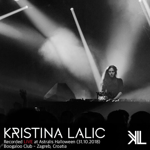 Kristina Lalic @ Astralis Halloween, Boogaloo Club (Zagreb - Croatia 31.10.2018)