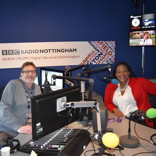 My Story on BBC Radio Nottingham Interview November 2018