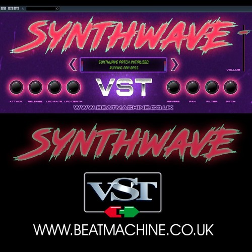 Synthwave VST Instrument - 'Midnight Call' by Beat Machine VST