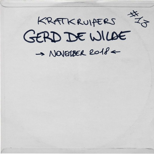 Kratkruipers #13 - Gerd De Wilde