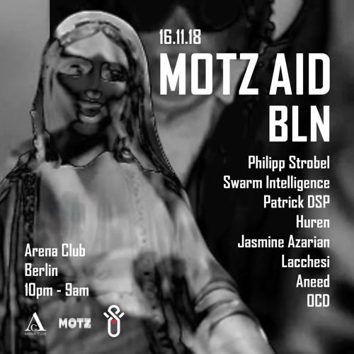 Patrick DSP - MOTZ BLN at Arena Club Berlin Nov 2018
