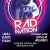 Dante b2b Urza Live at RAD Nation