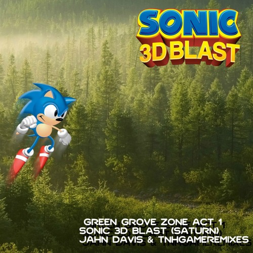 Sonic 3D Blast (Saturn) - Green Grove Zone Act 1 Remix (ft