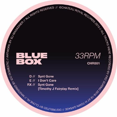 "PRÈMIÉRE: PRZ - ""Synt Gone"" (Timothy J. Fairplay Remix) [Chateau Royal]"