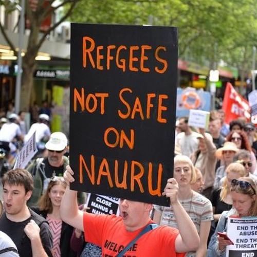 Lucy Honan: teachers walk off for refugees