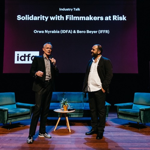 Industry Talk Solidarity With Filmmakers At Risk