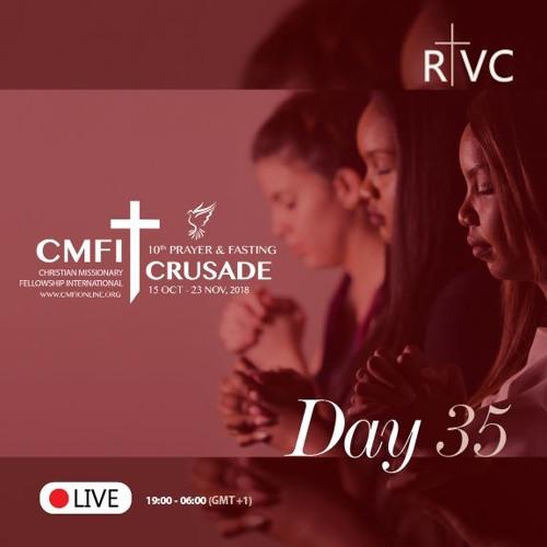 PC2018-Day35: Praying For 2019 World  Convention (Nicolas Akoa)